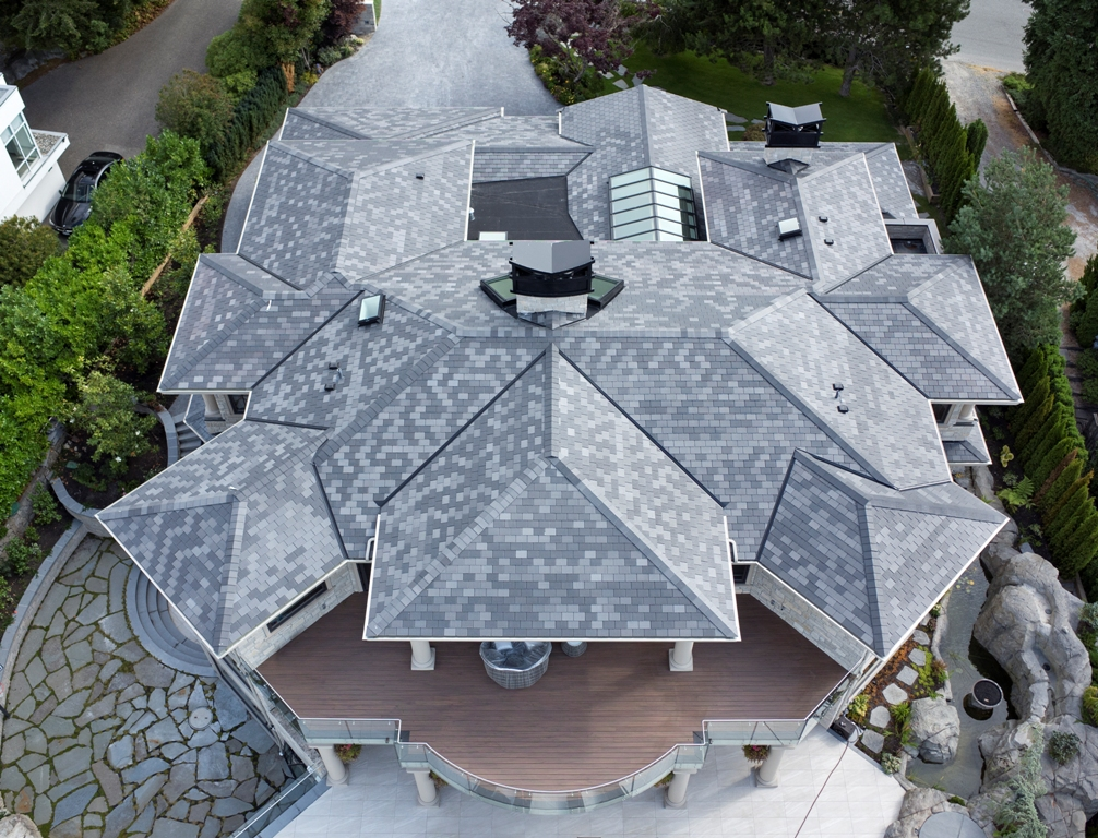 Dc roofing inc roofers since 1999 products slate for Synthetic roofing materials
